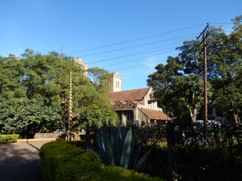 All Saints from the side